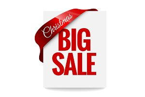 Big Christmas sale. Label