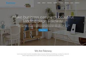 Raleway - Bootstrap WordPress Theme