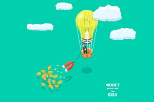 Money attraction for idea