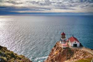 Lighthouse on Reyes Point