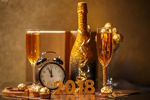 Celebrating 2018 New Years Eve