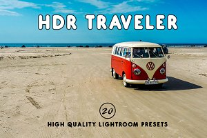 HDR Traveler Lightroom Presets