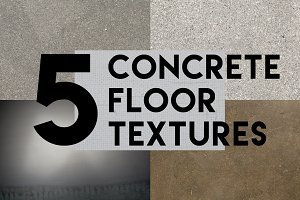 Concrete + Cement Floor Texture Pack