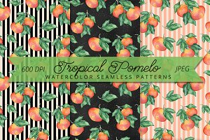 Tropical Pomelo patterns
