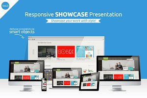 Responsive Showcase Presentation V3
