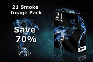 Bundle: 21 Smoke Images JPG