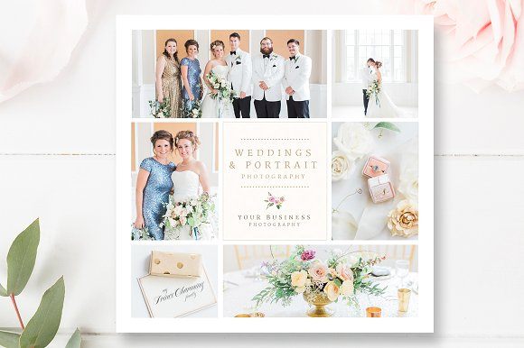 Wedding Photography Flyer Design in Flyer Templates - product preview 1