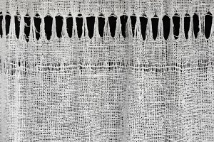 Texture of homespun linen cloth