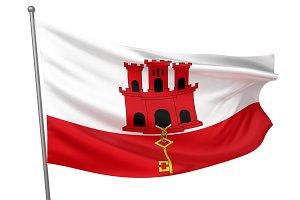Gibraltar National Flag