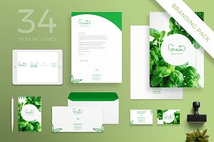 Branding Pack | Green Shop