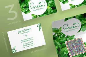 Business Cards | Green Shop