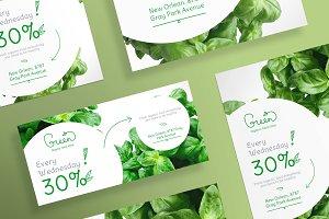 Flyers | Green Shop