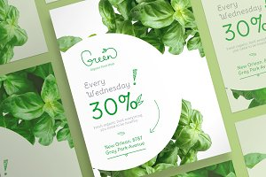 Posters | Green Shop