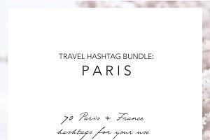 Paris France Instagram Hashtags