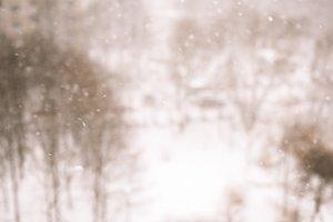 Winter blur background