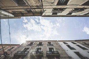 Street Scene In Sete, Southern France