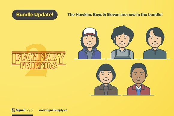 ImaginaryFriends Avatar Generator in Illustrations - product preview 6