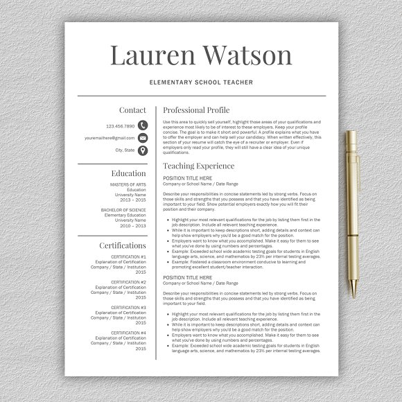 teacher resume cv cover letter resumes - What Is A Cover Letter To A Resume