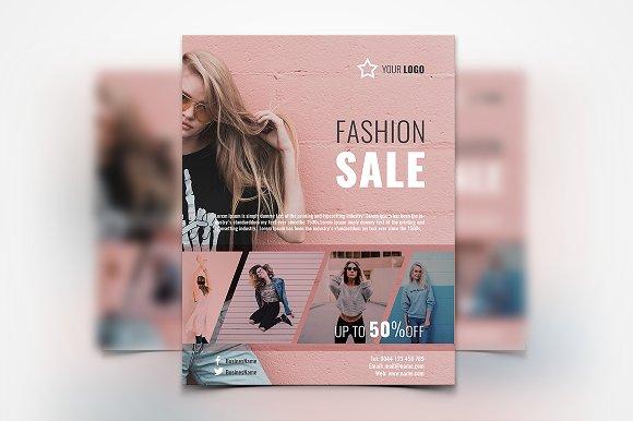 Women Fashion Flyer-Graphicriver中文最全的素材分享平台