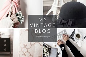 My Vintage Blog (40 Images)
