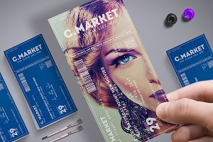 Elegant Creative Event Ticket