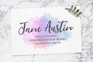 Jane Austin Font & Extra