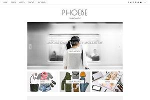 Blogger Template Responsive - Phoebe