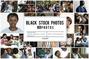 The Best Black Stock Photos Bundle