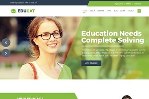 Educat – Education HTML Template