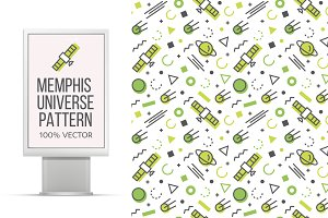 Memphis universe patterns