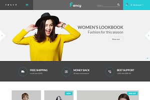 Fancy - eCommerce Fashion Template