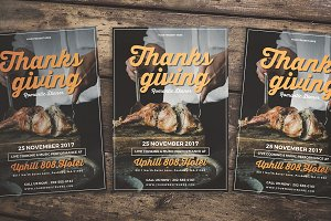 Thanksgiving Dinner Flyer
