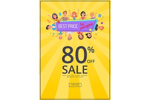 Best Offer for Everyone Promotional Poster People