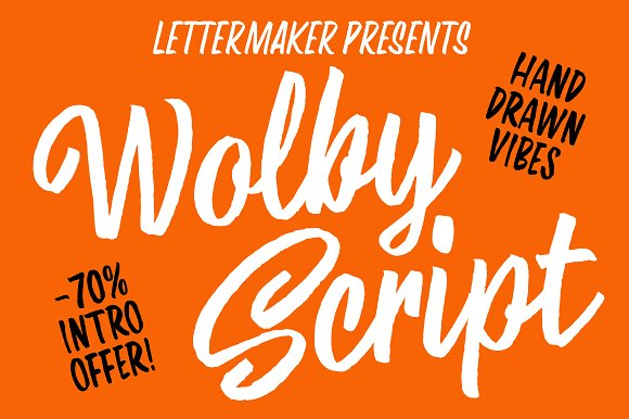 Wolby Script Intro offer -70%