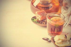 healthy sea buckthorn tea