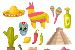 Mexican Icon Set