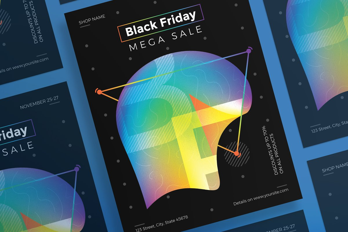 Posters | Black Friday in Flyer Templates - product preview 8