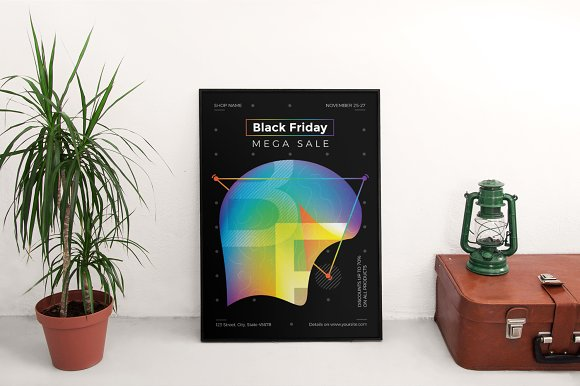 Posters | Black Friday in Flyer Templates - product preview 2