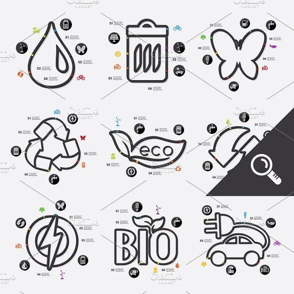 9 ECOLOGY infographics