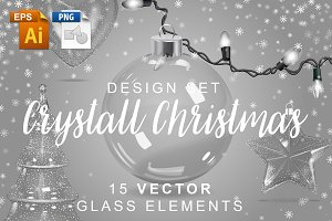 Crystal Christmas Design Set