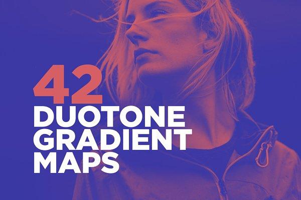 42 Duotone Effect Gradient Maps