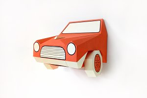 DIY Car Front - 3d papercraft