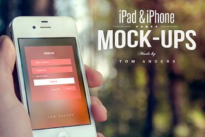 iPad & iPhone Mock-ups