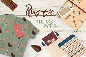 Rustic Christmas Pattern