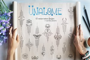 UNALOME | 60 vector designs