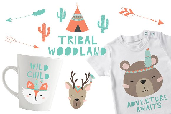 Tribal Woodland Set