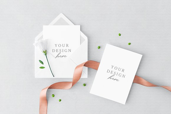 Download Greeting Card Envelope Mockup Free Any Mockups