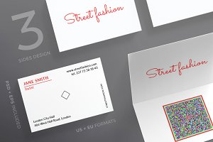 Business Cards | Street Fashion