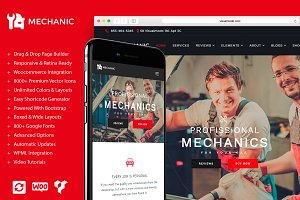 Mechanic - Auto & Car Repair Theme