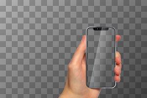 Brand-new frameless smartphone